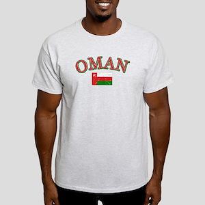 Oman Flag Designs Light T-Shirt