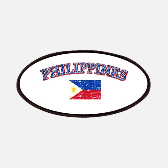 Philippines Flag Designs Patches