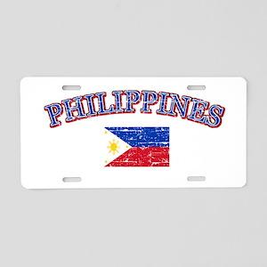 Philippines Flag Designs Aluminum License Plate
