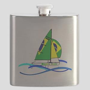 Brazil 470 Class Sailing Flask