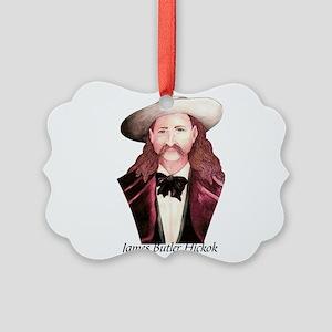 Wild Bill Hickok Picture Ornament