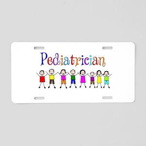 Pediatrician Aluminum License Plate