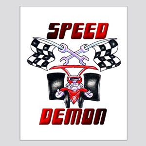 Speed Demon Small Poster