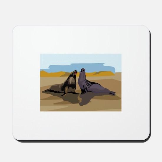 Seal Mousepad