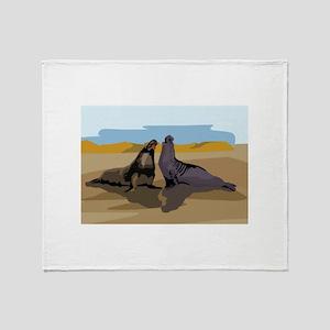Seal Throw Blanket