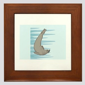 Seal Framed Tile