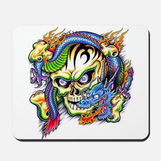 skull1 Mousepad