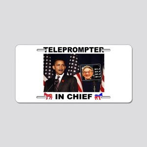 TELEPROMPTER Aluminum License Plate