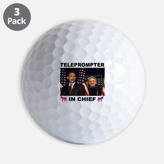 TELEPROMPTER Golf Ball