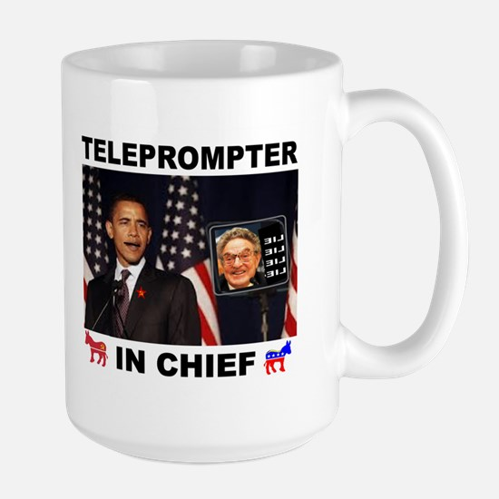 TELEPROMPTER Large Mug