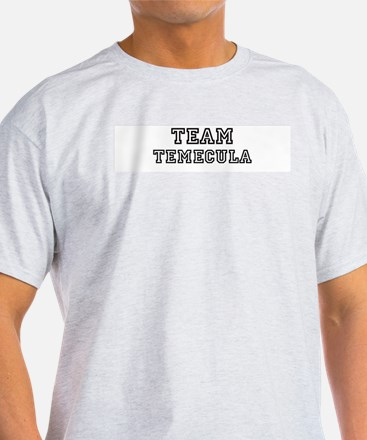 Team Temecula Ash Grey T-Shirt