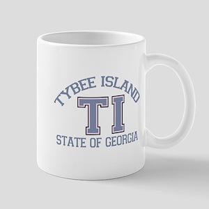 Tybee Island GA -Varsity Design. Mug