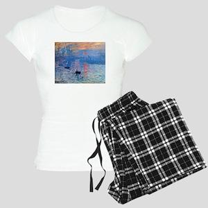 Claude Monet Impression Sunrise Women's Light Paja