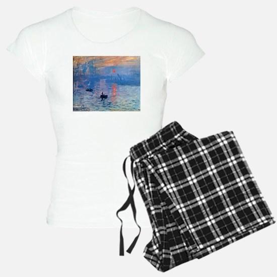 Claude Monet Impression Sunrise Pajamas