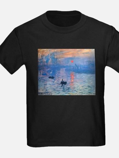 Claude Monet Impression Sunrise T