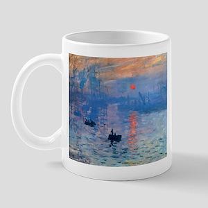 Claude Monet Impression Sunrise Mug