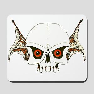 Skull wings Mousepad