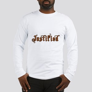 Justified Long Sleeve T-Shirt