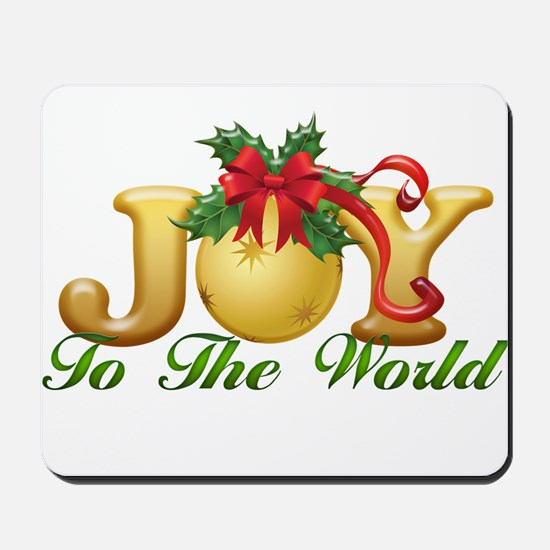 2-Joy to the World.png Mousepad