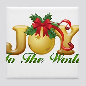 2-Joy to the World.png Tile Coaster
