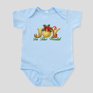2-Joy to the World Infant Bodysuit