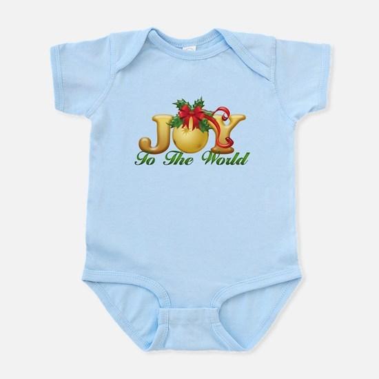 2-Joy to the World.png Infant Bodysuit