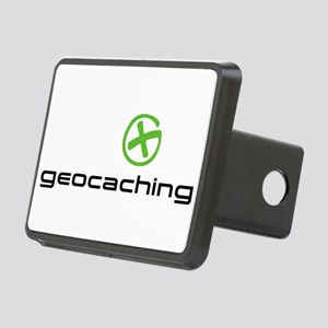Geocaching Logo Rectangular Hitch Cover