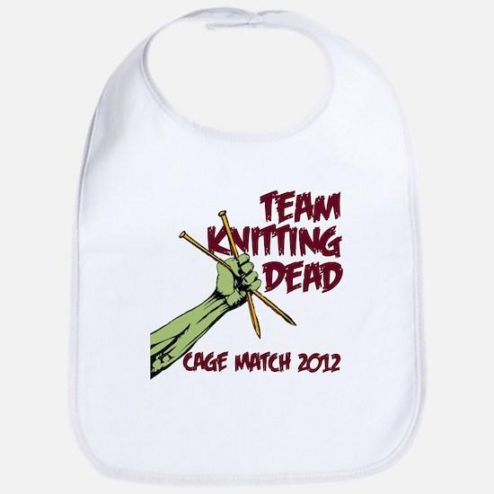 Team Knitting Dead Cage Match 2012 Bib