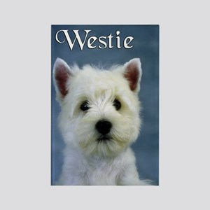 Westie Rectangle Magnet (10 pack)