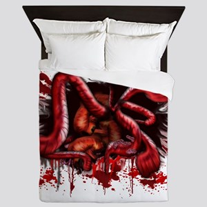 Spill your Guts Queen Duvet