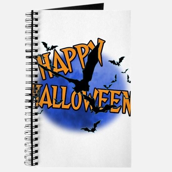 Happy Halloween Bats.png Journal