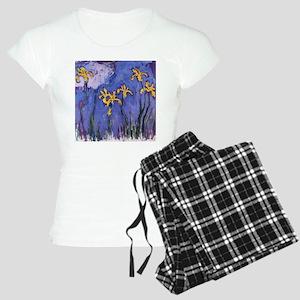 Monet Yellow Irises Women's Light Pajamas