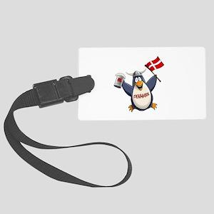 Denmark Penguin Large Luggage Tag