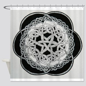 celtic knot Shower Curtain