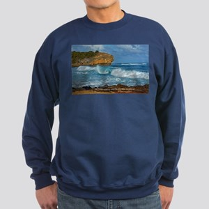Shipwreck Beach Shorebreaks Sweatshirt (dark)