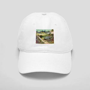 Van Gogh Garden At Arles Cap