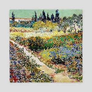 Van Gogh Garden At Arles Queen Duvet