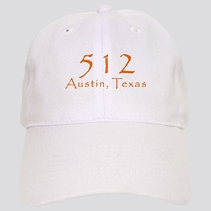 512 Austin Texas Area Code T-Shirt Cap