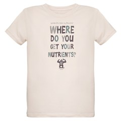 Where Do You Get Your Nutrients? T-Shirt