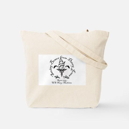 US Navy Medicine Tote Bag