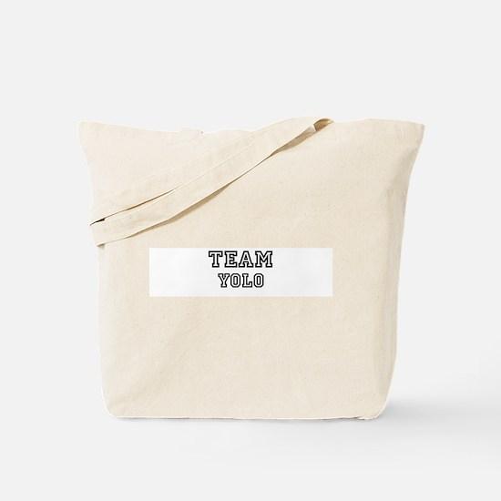 Team Yolo Tote Bag
