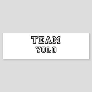 Team Yolo Bumper Sticker