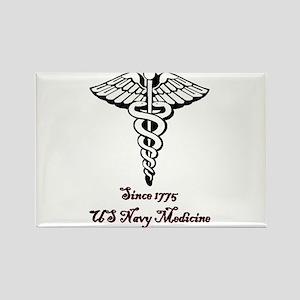 US Navy Medicine Rectangle Magnet