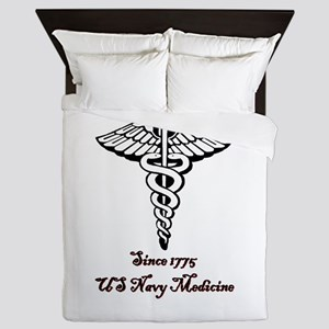 US Navy Medicine Queen Duvet