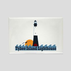 Tybee Island GA - Lighthouse Design. Rectangle Mag