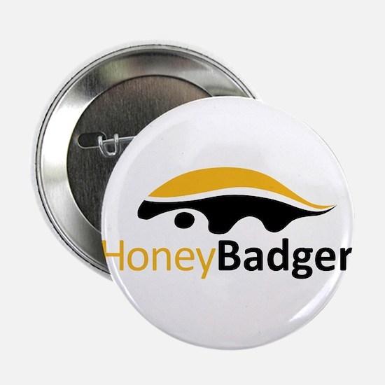 """Honey Badger Logo 2.25"""" Button (10 pack)"""