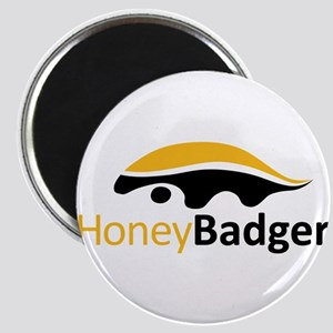 Honey Badger Logo Magnet