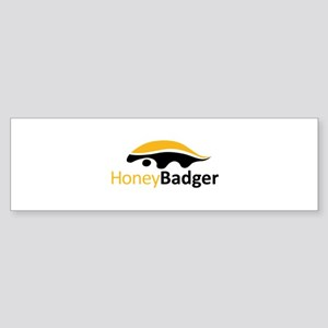 Honey Badger Logo Sticker (Bumper)