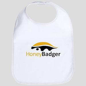 Honey Badger Logo Bib