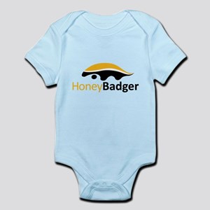 Honey Badger Logo Infant Bodysuit
